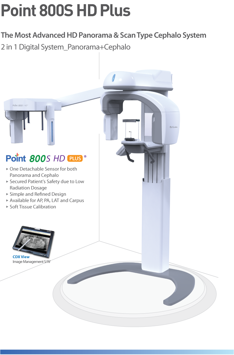 POINT 800SHD Plus (Extra Oral Imaging)